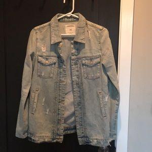 Zara Jackets Amp Coats Faux Leather Jacket W Detachable